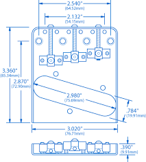 wilkinson adjustable compensated bridge for tele stewmac com Wilkinson Hot Humbucker Wiring Diagram how to install wilkinson compensated tele saddles Double Humbucker Wiring