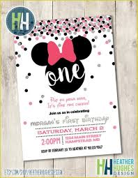minnie mouse invitation template outstanding minnie mouse 1st birthday invitations ideas 3400
