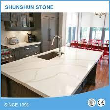grey vein calacatta prefab white quartz stone countertop pictures photos