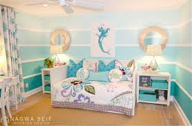 mermaid bedroom set little wall decor home themed for bathroom disney bedding bed queen