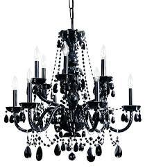 black crystal chandelier beads elegant traditional light