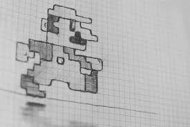Images Cool Things To Draw On Graph Paper