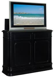 Bed With Tv Built In Crystal Pointe Foot Of Bed Tv Lift Cabinet Entertainment Center