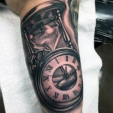 60 Přesýpací Hodiny Tetování Vzory Pro Muže Průchod času