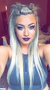 festival hair style makeup ig madddz