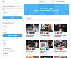 Small Picture Twitter Is Experimenting With A Major Homepage Design Overhaul