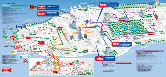 download printable map of new york city attractions  major