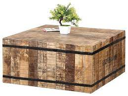 expedition square coffee table made of