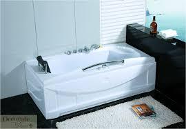 66 white bathtub whirlpool jetted spa tub 19 mass