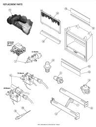 lennox fireplace parts. fireplace parts diagram home design inspirations lennox e