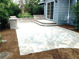 patio costs per square foot cost concrete driveway diy paver installing