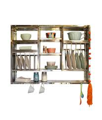 Steel Shelf For Kitchen Buy Bharat Gloss Finish Stainless Steel Kitchen Rack 30x42 Inch