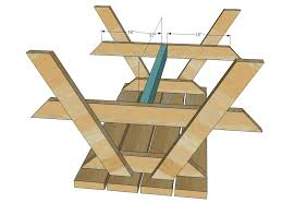 great wood picnic table plans ana white build a bigger kids picnic table diy projects
