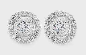 14k white gold diamond earrings 0 25 tcw 499 gemsone