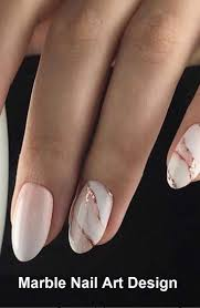 Nail Designs For Wedding Guest 2019 25 Marble Nail Design With Water Nail Polis Naildesign