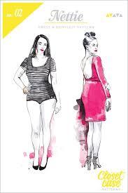 Bodysuit Sewing Pattern Amazing Nettie Dress Bodysuit Pattern Closet Case Patterns Three