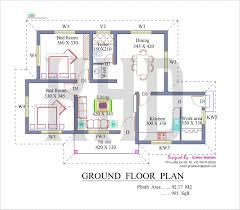 kerala model 3 bedroom house plans lovely kerala style homes plans free fresh low cost 3