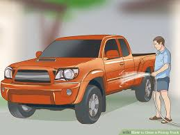How to Clean a Pickup Truck (with Pictures) - wikiHow