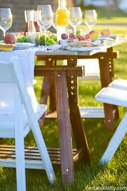 Pop-Up Backyard Dinner Party