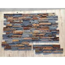 slate stacked veneer wall stone panels natural slate wall panel stone veneer wall