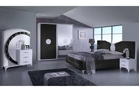 Design Schlafzimmer Ankara In Schwarzweiß 5 Teilig Interdesign24de