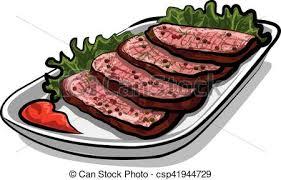 roast beef clipart. Beautiful Beef Sliced Roast Beef  Csp41944729 Inside Roast Beef Clipart O