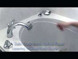 how to fix bathtub shower diverter bathtub faucet leaking when shower is on interior how to