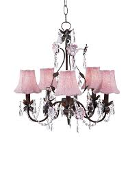 jubilee collection glass beaded fabric shades on flower garden chandelier pink mocha search results