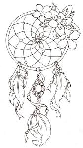 Dream Catchers Sketches Tattoos Dream catcher sketch tattoos Pinterest Dream catcher 50