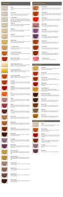 Lens Color Chart Shooting Glasses Lm Lenses