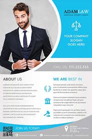 Lawyer Service Free Flyer Template Download For Photoshop