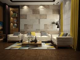 Living Room Design: Vertical And Horizontal Wood Panels - Wall Decor