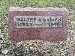 Walter Arnold Kalies (1892-1949) - Find A Grave Memorial