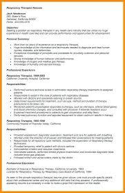 Entry Level Respiratory Therapist Resume Fascinating Respiratory Therapist Resume Sample Districte44