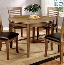 furniture of america cm3988nt rt 48 dwight i transitional natural tone finish 48 round table