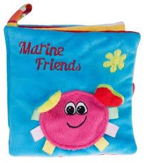 <b>Canpol</b> Babies <b>Книжка мягкая</b> Marine friends — купить по ...