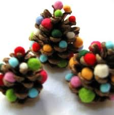 Pine Cone Christmas Tree Craft Project