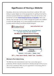 Web Designing In Jalandhar Web Designing Service In Jalandhar