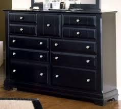 black bedroom dressers