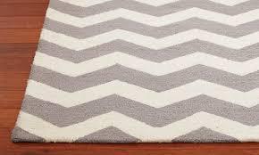 decor gray and white chevron area rug  chevron rug  ballard