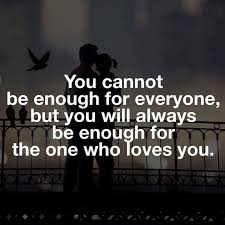 Love The One That Loves You Quotes