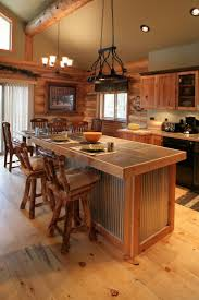 Rustic Kitchen Floors 17 Best Ideas About Rustic Cabin Kitchens On Pinterest Log Cabin