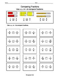 comparing fractions worksheets - Google Search | teaching aids ...comparing fractions worksheets - Google Search | teaching aids | Pinterest | Fractions, Worksheets and Fractions Worksheets
