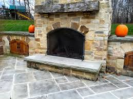 finelli architectural iron and stairs custom handmade outdoor patio decorative fireplace screen handmade in waite hill