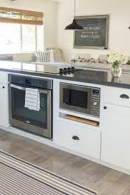 Kitchen Island With Microwave Drawer Luxury The E Trick For An Infinitely  Prettier Microwave Drawer In E78