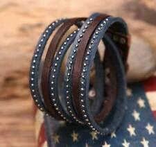 Кожаные <b>браслеты</b> гвоздь моды - огромный выбор по лучшим ...