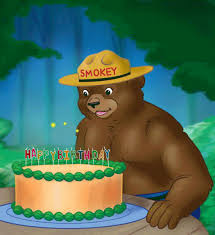 Birthday Cake Happy Birthday Smokey Bear Gif Find On Gifer
