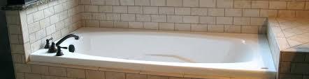 kohler archer drop in tub bathtub small coastal bathroom traditional