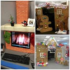 T Turn Your Cubicle Into A Gingerbread House