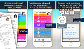 Resume App Classy Best IPhoneiPad Apps To Create Your Résumé To Land The Next Big Job